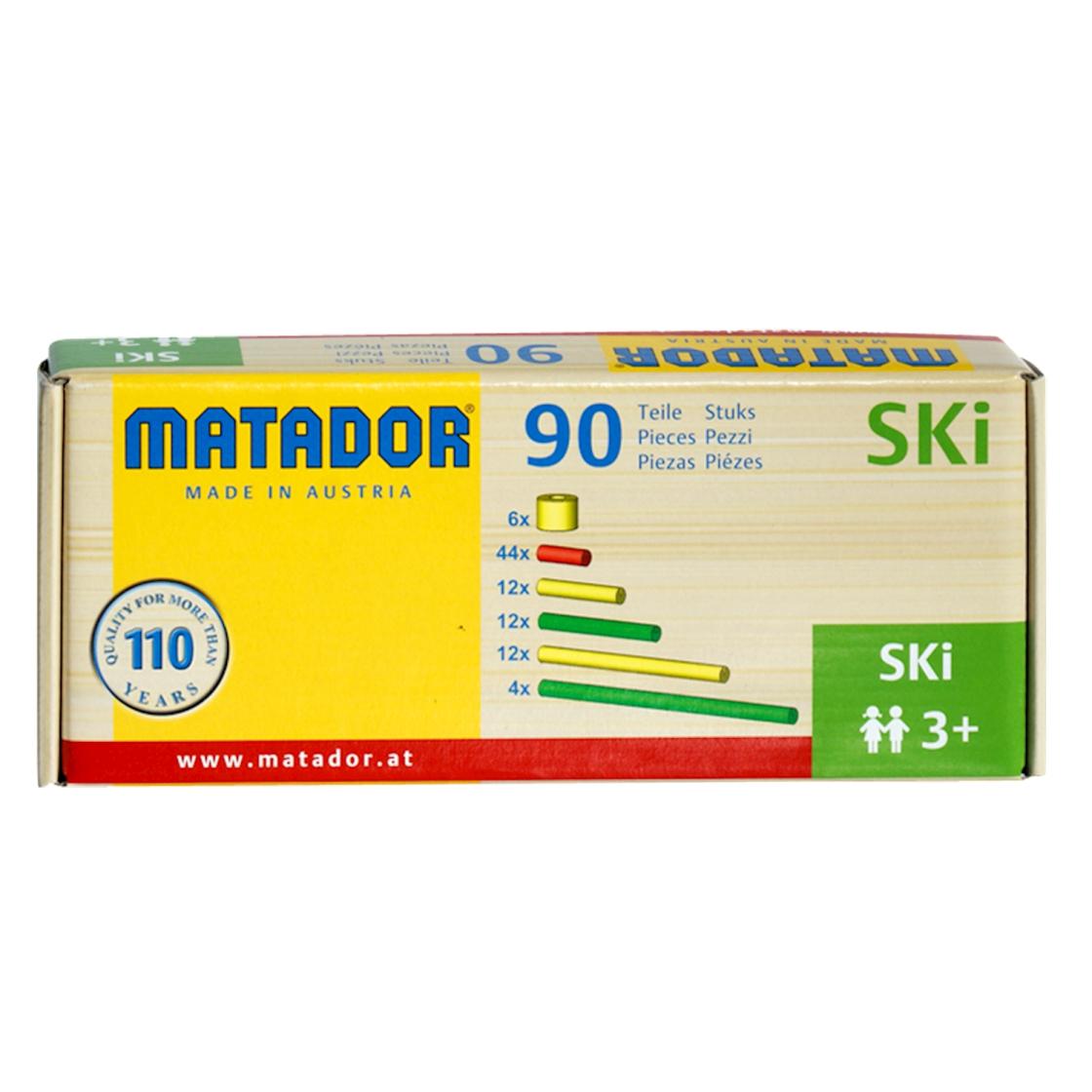 Matador M100 Maker Baukasten 70-teilig Holz NEU Baukästen & Konstruktion #